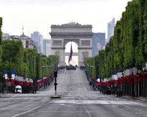 Celebración del 8 de mayo en París