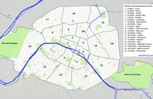 Distritos de París