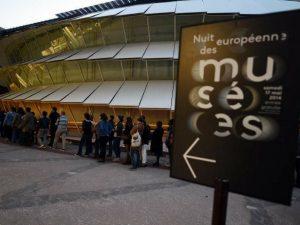 Noche de museos en Quai Branly en la Noche de los Museos del 2014,