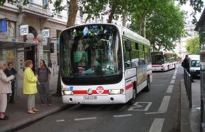 Autobuses en Lyon