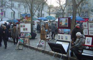Plaza de Tertre (Place du Tertre)