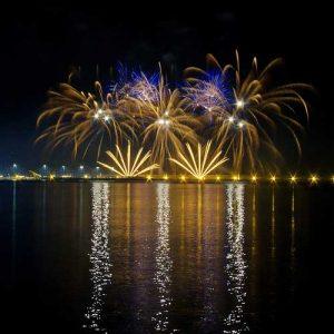 Fiesta nacional en Niza