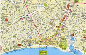 Mapa de Niza