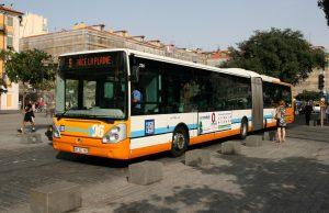 Autobuses en Niza